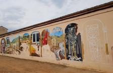 Palau de Noguera reivindica su historia a través de un mural