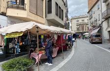 Las rebajas salen a la calle en Les Borges Blanques