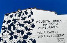 El mural censurat 'Love is Love' de Cristina Dejuan, premiat al Torrefarrera Street Art Festival