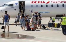 Alguaire recupera divendres els vols de Lleida a Palma