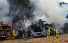 Sofocan un incendio en un pajar en La Torre de Capdella