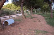 Recuperan la zona de paseo del Parc del Reguer de Tornabous