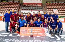 El Barça conquista la Lliga Catalana tras golear al Noia