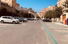 La pista de Santa Quitèria de Fraga ja és pàrquing gratuït de cotxes