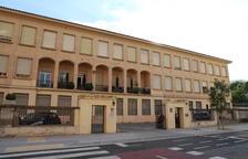 Imatge presa ahir de l'institut Màrius Torres de Lleida.