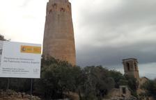 Torà ultima el interior de la torre de Vallferosa