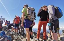 El Parc Natural de l'Alt Pirineu critica la masificación en la Pica d'Estats y anuncia que regulará el acceso