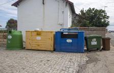 Illes verdes de contenidors a Bellpuig per millorar el reciclatge