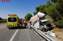 Ferits tres menors en un accident a Juneda i un atropellament a Tàrrega