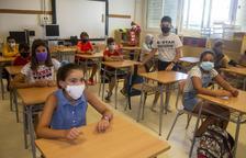 El curs de la mascareta arranca a Lleida millor del que s'esperava i amb poc absentisme