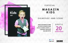 Arriba una nova edició de la revista Kids Magazín, tot sobre l'educació dels petits de la casa.