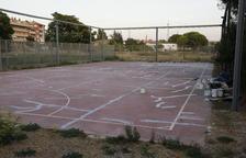 L'ajuntament de Lleida rehabilita la pista esportiva de la Bordeta