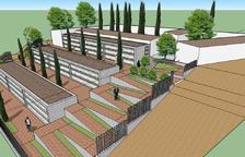 Motoliu amplía el cementerio en terrazas para acoger 180 nichos