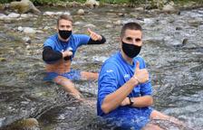 El Lleida Esportiu renueva por un año a Abel y Marc Martínez