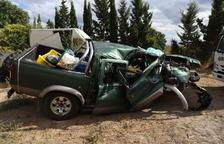 Muere el chófer de un todoterreno en un accidente en la C-12 en Maials