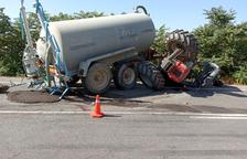 Mor un veí d'Albelda al bolcar amb el tractor