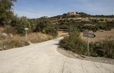 Sant Ramon repara la via que uneix els quatre nuclis