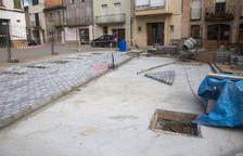 Tornabous inicia la reforma y mejora de la plaza Major