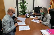 Hort per a la integració social de discapacitats a Fraga