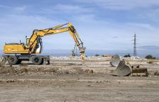 Construeixen la primera empresa en terrenys de L'Agudana