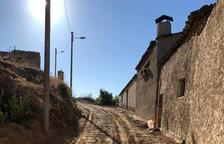 Menàrguens inicia la reforma de la calle del Castell en el centro