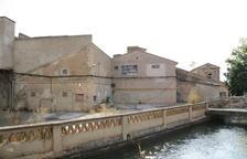Tiran una fábrica que Macià diseñó en Alfarràs para construir un 'súper'