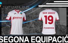 El Lleida utilizará una segunda equipación de color blanco
