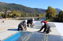 Placas fotovoltaicas para el Parc Olímpic del Segre