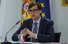 El ministre de Sanitat, Salvador Illa.