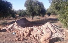 Obras del Segarra-Garrigues sin tocar olivos de 3 pueblos