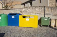 Illes de contenidors per millorar el reciclatge en dos municipis de l'Urgell