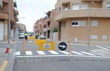 Calles de un solo sentido para ir al polideportivo de Mollerussa