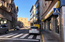 Solsona instal·la zona blava a la carretera de Bassella