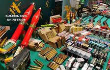 Detenido un vecino de Mollerussa por vender bolígrafos pistola