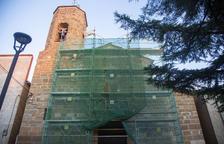 Reparan el tejado de la iglesia de El Tarròs