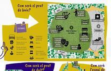 Más de cien propuestas para el parque urbano de Linyola