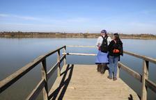 El vaciado del estanque de Ivars i Vila-sana llega a la recta final