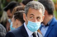 Sarkozy, al banc dels acusats en el primer judici en contra seu