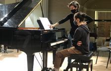 La pianista Alba Ventura, 'professora' a Cervera