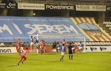 El Lleida espera rebre els permisos necessaris perquè el partit davant del Nàstic del 6 de desembre sigui el primer amb espectadors