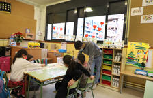 Los grupos escolares confinados bajan a una tercera parte en un mes en Lleida