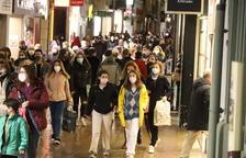 El Eix Comercial se vuelve a llenar el día después del Black Friday