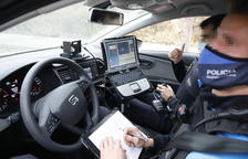 Primeres multes als carrers 30 de Lleida, que només s'imposen als que superen els 50 km/hora
