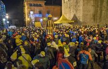 La Sant Silvestre de La Seu fue la más multitudiaria de Lleida en 2019 con casi 2.300 participantes.