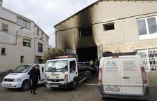 Grave por quemaduras un vecino de Arbeca al incendiarse su garaje