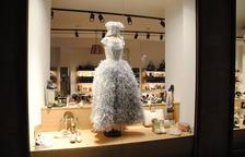 Exposición urbana de vestidos de papel en el centro a partir de mañana jueves