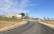 Alcarràs termina la renovación del camino de Montagut