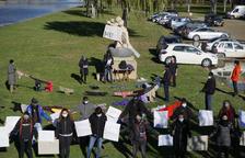 Acción contra la política migratoria en Balaguer