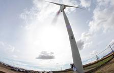 La CUP advierte que Ponent puede llegar a tener más de 500 aerogeneradores