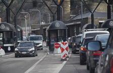 Més trànsit a la Farga de Moles a l'alçar restriccions